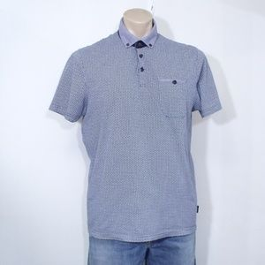 Ted Baker London Blue Rayvie Polo Shirt